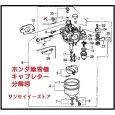 画像2: ホンダ  除雪機  キャブレター  ASSY   HSS970n用   (2)
