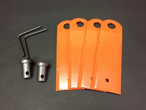 画像1: クボタ純正 自走式草刈機 カルマックス 替刃 GC-K502EX 専用  (1)