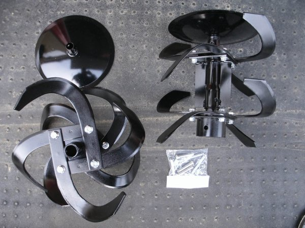 画像1: ホンダ純正 F401,F501 ナタ爪 ローターセット  (1)